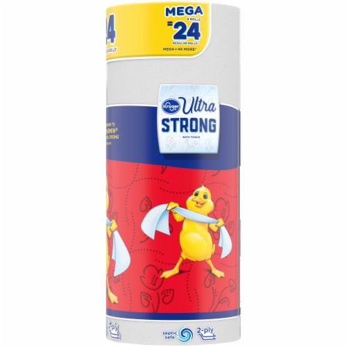 Kroger® Ultra Strong Mega Roll Bath Tissue Perspective: right