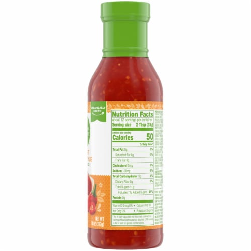 Simple Truth Organic™ Sweet Thai Style Chili Sauce Bottle Perspective: right