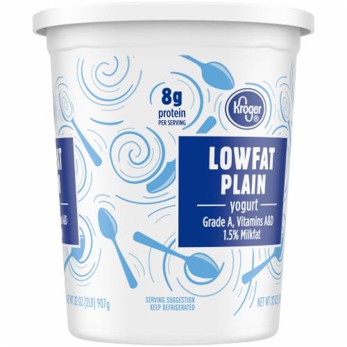 Kroger® Lowfat Plain Yogurt Perspective: right