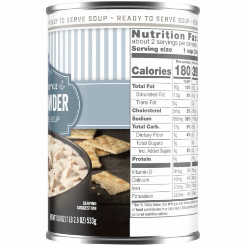Kroger® New England Style Clam Chowder Perspective: right