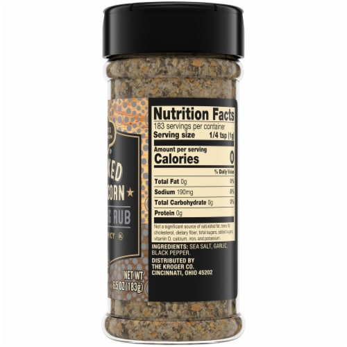 Private Selection® Cracked Peppercorn Seasoning Rub Perspective: right