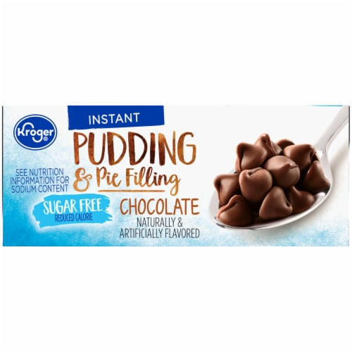 Kroger® Sugar Free Chocolate Pudding & Pie Filling Perspective: right