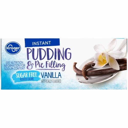 Kroger® Sugar Free Vanilla Pudding & Pie Filling Perspective: right