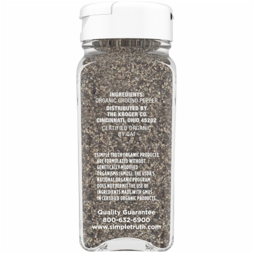 Simple Truth Organic™ Ground Black Pepper Perspective: right