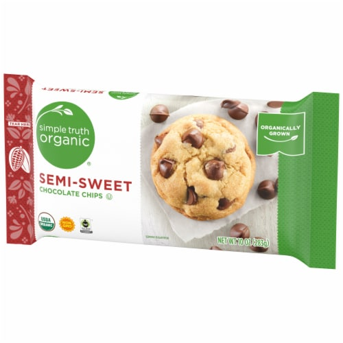 Simple Truth Organic® Semi-Sweet Chocolate Chips Perspective: right