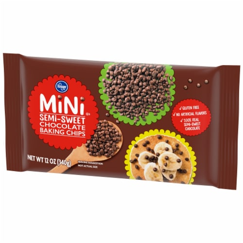 Kroger® Semi-Sweet Chocolate Baking Chips Perspective: right