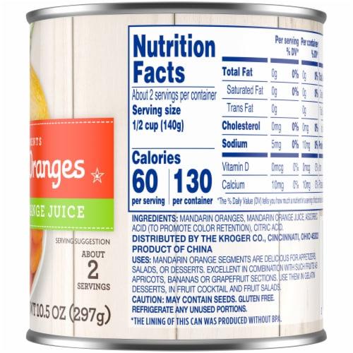 Kroger® Mandarin Oranges in Juice Perspective: right