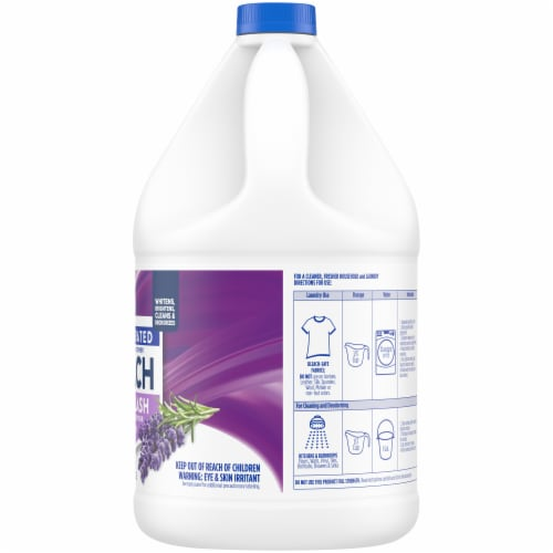 Kroger® Low Splash Lavender Scent Concentrated Bleach Perspective: right