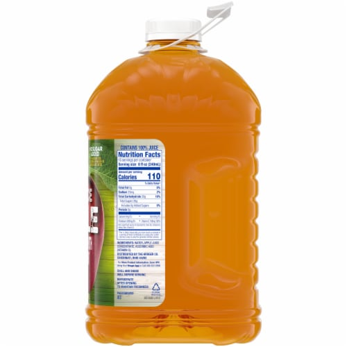 Kroger® 100% Apple Juice From Concentrate Bottle Perspective: right