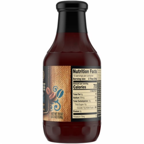 Private Selection® Coffee Infused BBQ Sauce Perspective: right