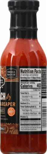 Private Selection® Peach Carolina Reaper Hot Wing Sauce Perspective: right