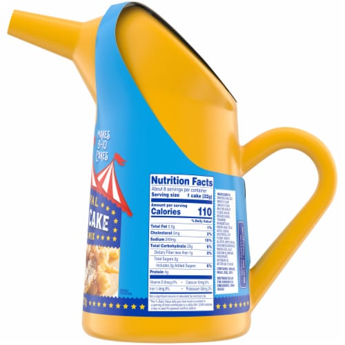 Kroger® Carnival Funnel Cake Pitcher & Mix Perspective: right