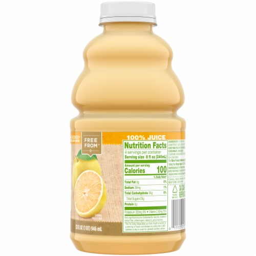 Simple Truth® White Grapefruit Juice Perspective: right