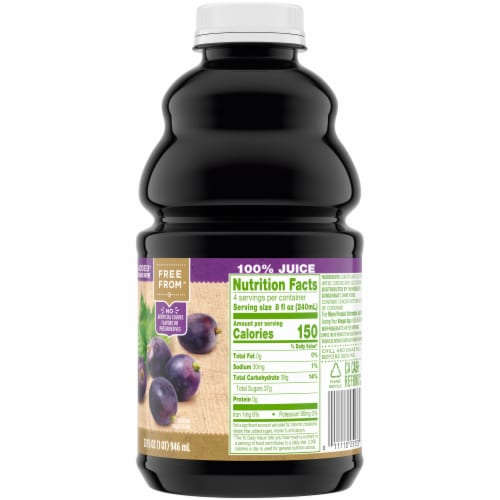 Simple Truth Concord Grape Juice Perspective: right