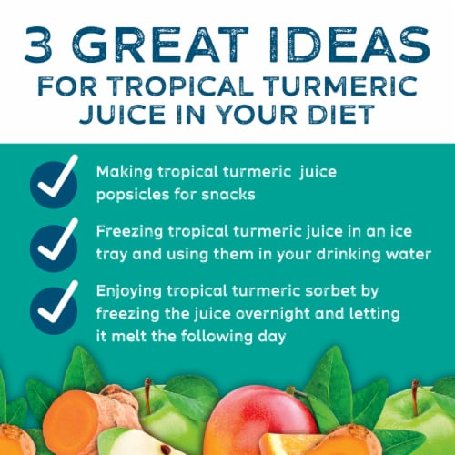 Simple Truth® Organic Tropical Turmeric Fruit Juice Perspective: right