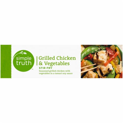 Simple Truth™ Grilled Chicken & Vegetables Stir Fry Perspective: right