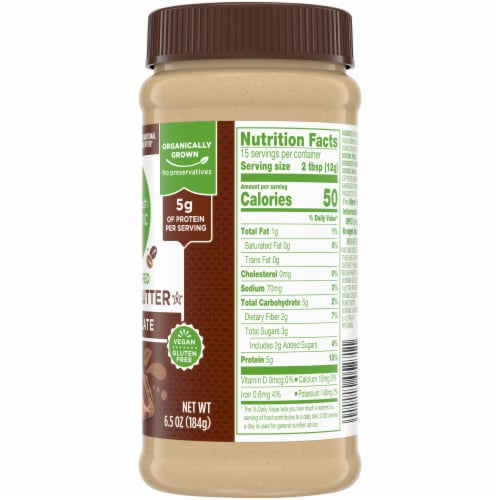 Simple Truth Organic™ Chocolate Powdered Peanut Butter Perspective: right