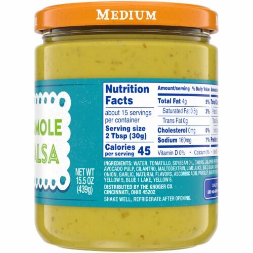 Kroger® Medium Guacamole Salsa Perspective: right