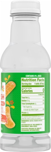 Simple Truth Organic™ Splish Tangerine Flavored Water Perspective: right