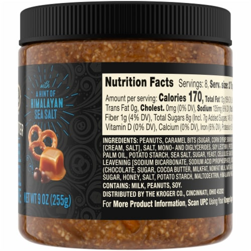 Private Selection Chocolate Pretzel Caramel Nut Butter Perspective: right