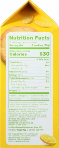 Simple Truth™ Lemon Thin and Crispy Cookies Perspective: right