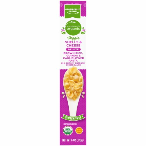 Simple Truth Organic® Deluxe Veggie Shells & Cheese Perspective: right
