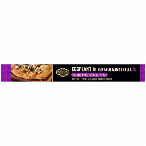 Private Selection Eggplant & Buffalo Mozzarella Rustic Pinsa Romana Frozen Pizza Perspective: right