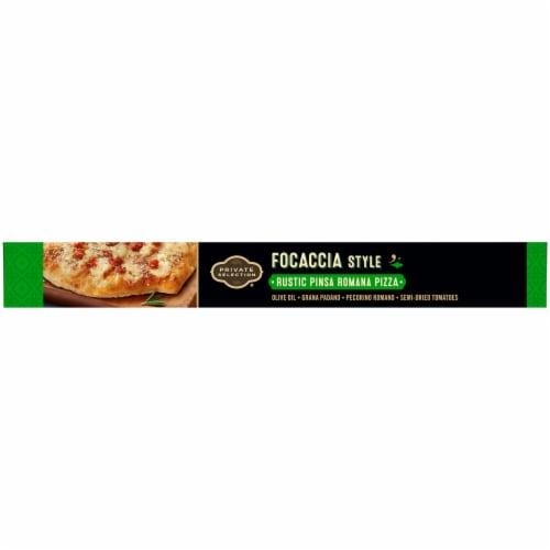 Private Selection Focaccia Style Rustic Pinsa Romana Frozen Pizza Perspective: right