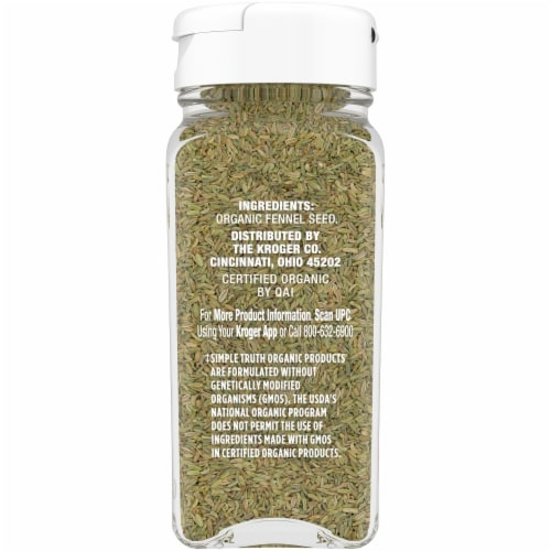 Simple Truth Organic™ Whole Fennel Seed Perspective: right