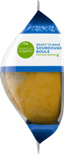 Simple Truth Organic® Ready to Bake Sourdough Boule Artisan Bread Perspective: right