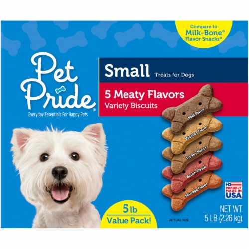 Pet Pride® Meaty Flavors Small Dog Treats Value Pack Perspective: right