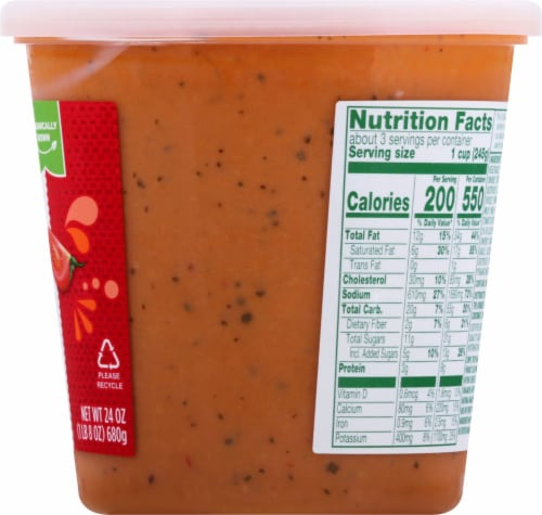 Simple Truth Organic® Gluten Free Tomato Bisque Soup Perspective: right