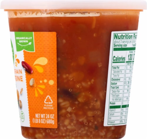 Simple Truth Organic® Ancient Grain Minestrone Soup Perspective: right