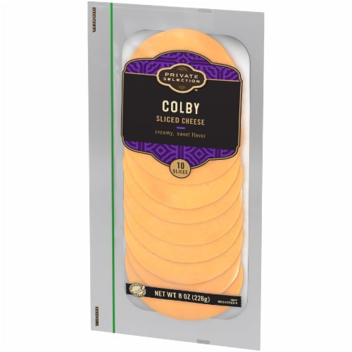 Private Selection™ Colby Sliced Cheese Perspective: right