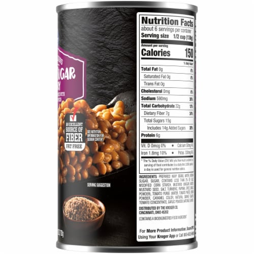 Kroger® Brown Sugar Hickory Baked Beans Perspective: right