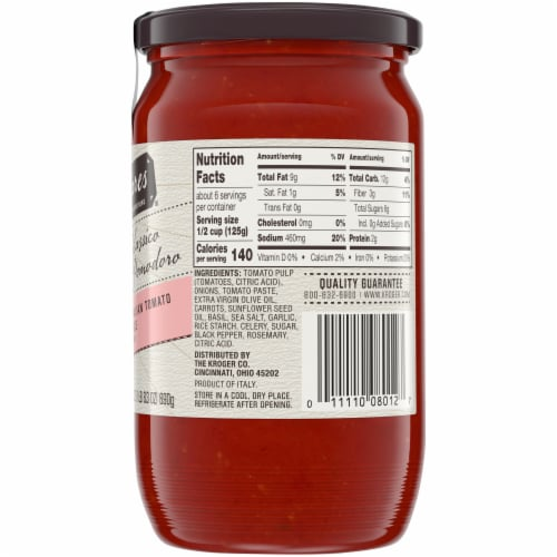 HemisFares Pomodoro Classic Italian Pasta Sauce Perspective: right