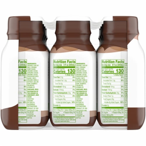Simple Truth Organic® Low Fat Chocolate Milk Perspective: right