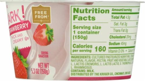 Simple Truth™ Quark! Strawberry Yogurt Perspective: right
