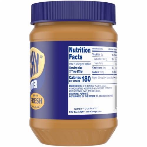 Kroger® Gluten Free Crunchy Peanut Butter Perspective: right