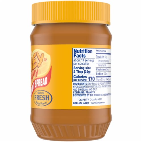Kroger® Creamy Honey Roasted Peanut Spread Perspective: right