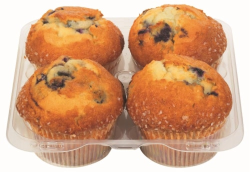 Bakery Fresh Goodness Blueberry Muffins Perspective: right
