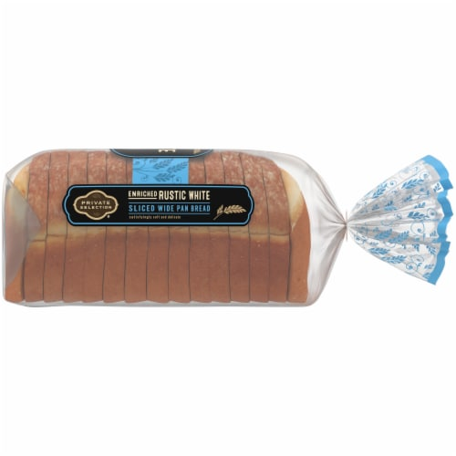 Private Selection® Enriched Rustic White Sliced Wide Pan Bread Perspective: right