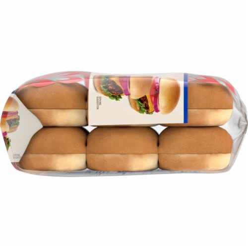 Kroger® Enriched Slider Sandwich Buns Perspective: right