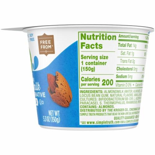 Simple Truth™ Vanilla Dairy Free Almondmilk Yogurt Perspective: right