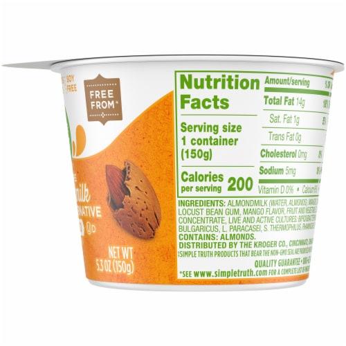 Simple Truth™ Dairy Free Mango Almondmilk Yogurt Alternative Perspective: right
