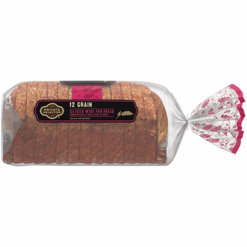 Private Selection® 12 Grain Sliced Wide Pan Bread Perspective: right