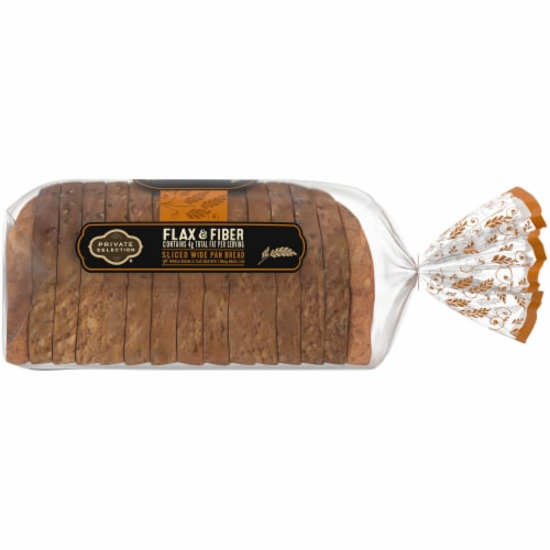 Private Selection® Omega Flax & Fiber Wide Pan Bread Perspective: right