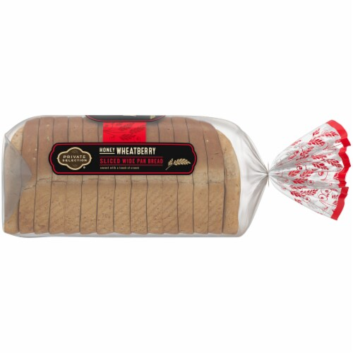 Private Selection® Honey Wheatberry Wide Pan Bread Perspective: right