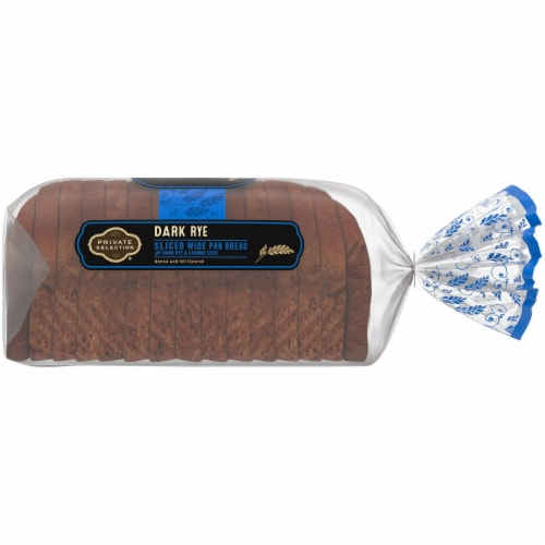 Private Selection® Dark Rye Wide Pan Bread Perspective: right