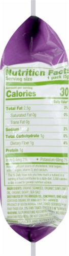 Simple Truth Organic® Sweet & Salty Roasted Seaweed Snack Perspective: right